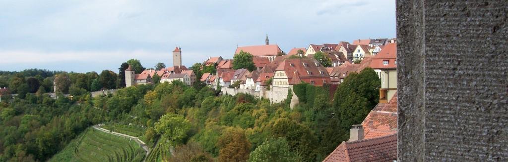 Blick zum Burggarten; Foto: Wolf Stegemann