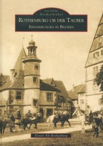 Literatur-Titel-Fotoband Rothenburg