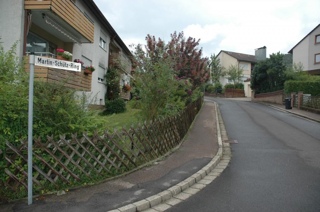 Bis 2010 ehrte Schnaittach Martin Schütz mit der Benennung einer Straße