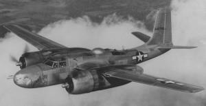 Dieser Bombertyp war an der Bomradierung Rothenburgs beteiligt: eine Douglas-A-26-Invider