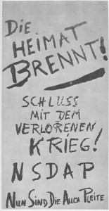 Solche Flugblätter wurden 1945 im Ruhrgebiet verteilt
