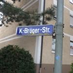 Straßenschild in Rothenburg