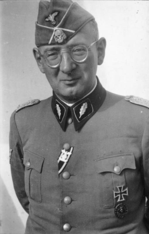 Gerichtsherr SS-General Max Simon ließ die Brettheimer Zivilisten hinrichten