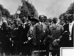 Deutscher Tag der NSDAP in Nürnberg mit Hitler und Streicher