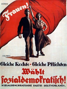 SPD-Wahlplakat 1919