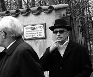 Der BND-Chef Gehlen ließ sich kaum fotografieren. Das Foto entstand 1972 in München; Foto: Endlicher (AP)