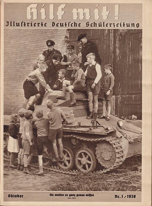 NS-Propagandafoto auf der Titelseite