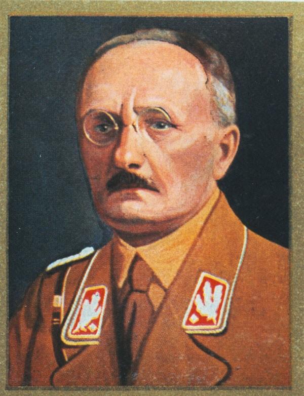 Hans Georg Hofmann übernahm die fränkische SA und wurde später Regierungspräsident für Mittel- und Oberfranken