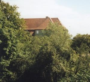 Toppler-Schulhaus (2008), Blivck von der Stadtmauer; Foto: Stegemann