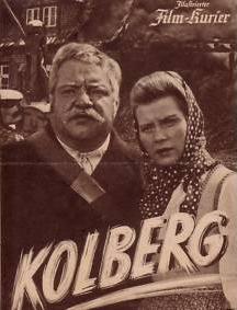 """Eigens gedrehter Durchhalte-Propagandafilm Film """"Kolberg"""" mit Heinrich George"""