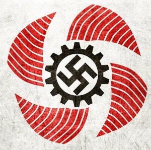 """Logo der Organisation """"Kraft durch Freude"""""""
