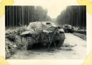 Panzer auf der Frankenhöhe