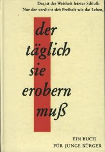 """n diesem Buch veröffentlichte Hans Filbinger 1962 seinen Aufsatz """"Am Grabe der Opfer von Brettheim"""""""