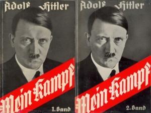 Mein Kampf-titel der zwei bände