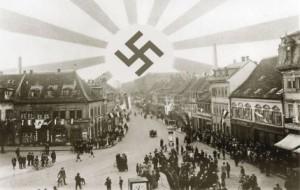 Postkarte aus Frankenthal 1933