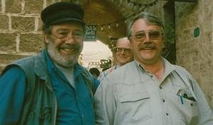 Denny Pinkus (li) und Wolf Stegemann