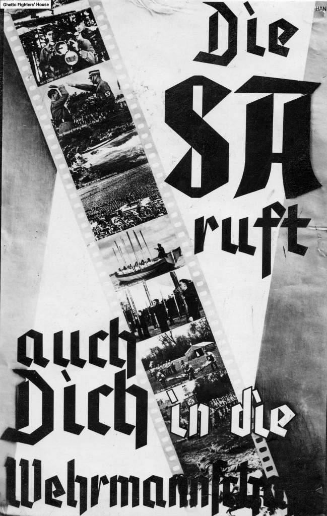 Werbeplakat der SA vor 1933