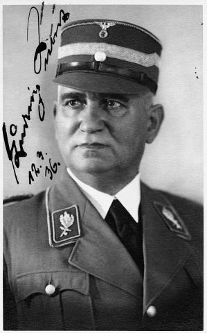 Der bayerische Ministerpräsident Ludwig Siebert