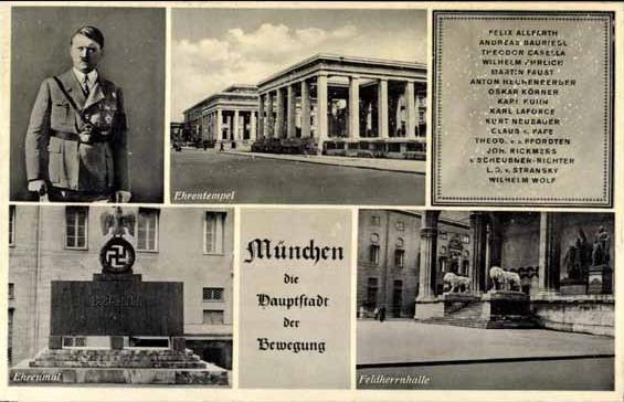 """München, die """"Hauptstadt der Bewegung"""""""