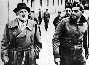 Verhaftung Streichers in Waldring (Berchtesgaden) im Juni 1945