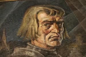 Bürgermeister Heinrich Toppler (13./14. Jh.), Gemälde von Ernst Unbehauen