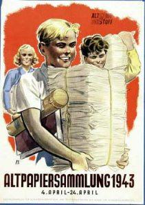 Altpapiersammlung 1943