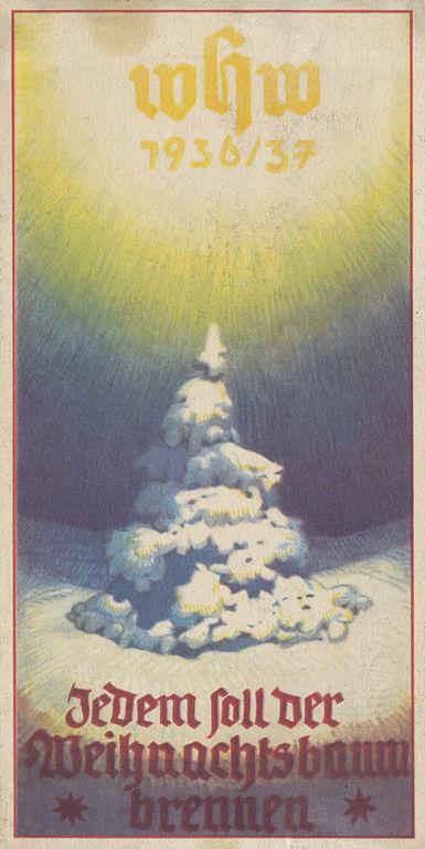 Türplakette des NS-Winterhilfwerks (WHW) 1936/37
