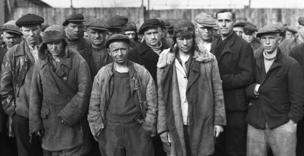 """Diese Zwangsarbeiter """"Ost"""" arbeiteten auf einer Zeche im Ruhrgebiet"""