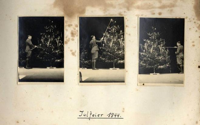 Weihnachten der SS in Auschwitz, während das Morden weiterging