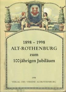 Schrift zum 100-jährigen Jubiläum des Vereins 1998