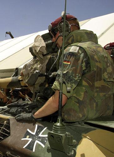 Das Balkenkreuz als Erkennungszeichen der Bundeswehr