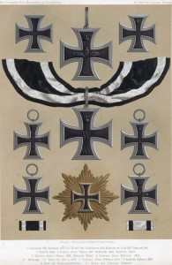 Versionen des Eisernen Kreuzes von 1813 bis 1870