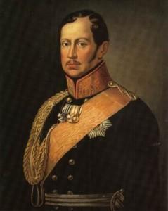 EK-Stifter König Friedrich Wilhelm III.