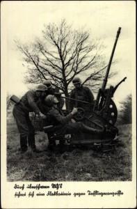 Deutsche Flugabwehr, NS-Propaganda-Postkarte