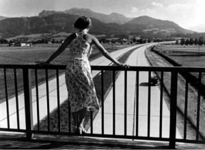 Blick auf die RAB bei Bernau um 1937 (NS-Werbefoto)