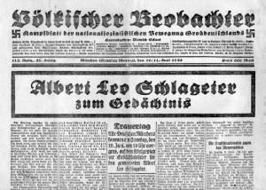 völk. Beobachter-schrift-völk.Beob. 1922