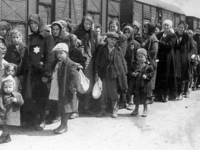 Deportationszug nach Auschwitz