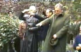 Beerdigung des NS-Mörders Walter Rauff 1984 in Santiago de Chile mit Hitlergruß