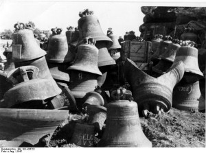 Glockenfriedhof 1947 in Hamburg; Foto: Bundesarchiv