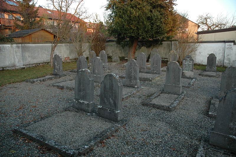 Der jüdische Friedhof heute