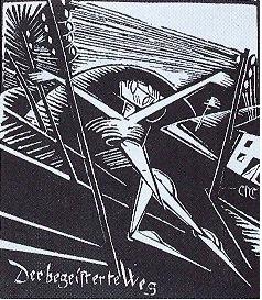Ein Blatt aus der Serie der beschlagnahmten Bilder von Constantin von Mietschke-Collande