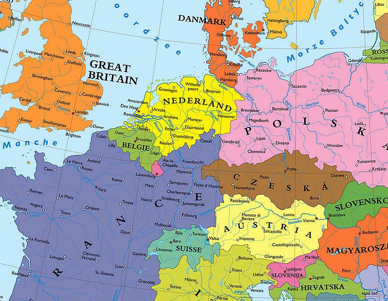 Kaufmans Plan zur Aufteilung Deutschlands