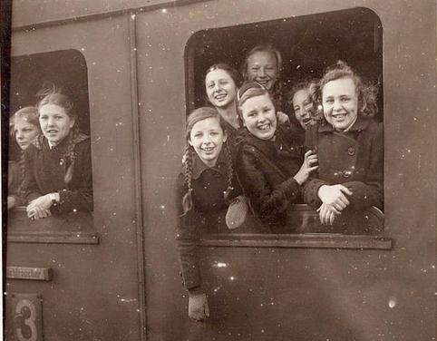 Tausend Kinder umfasste der Zug, mit dem Agnes Hürland an den Main und an die Tauber verschickt worden war