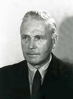 Ministerpräsident Walter Bartram (CDU)