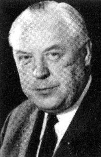 Landesminister Gustav Bosselbach (CDU)