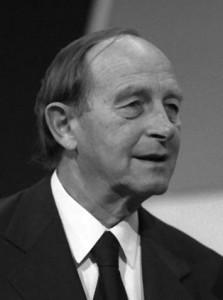 Ministerpräsident Filbinger 1971 (CDU)