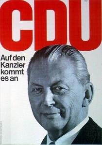Bundeskanzler Kurt Georg Kiesinger 1969