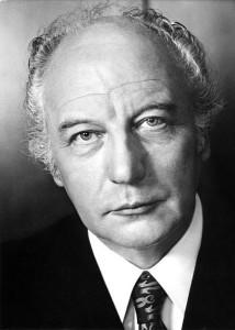Bundespräsident Walter Scheel (FDP) 1989
