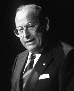 Bundesminister Friedrich Zimmermann (CSU)