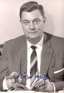 NRW-Landesminister Willi Weyer (FDP)